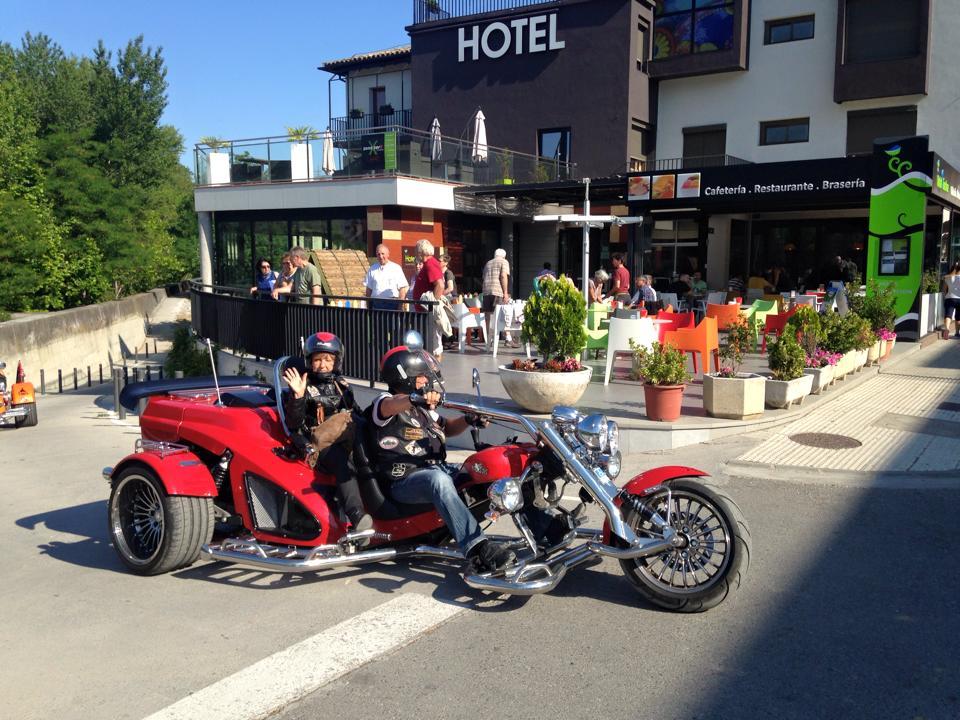 Parking cubierto para motos