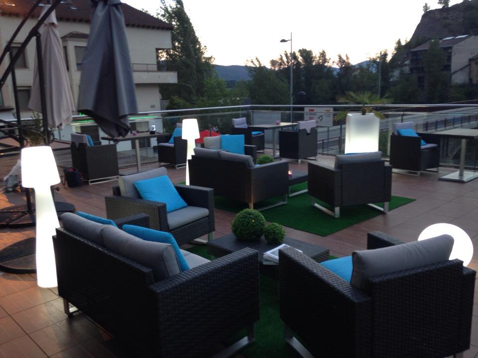 Terrace Lounge Hotel Sanchez Ainsa